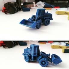 Easy to print Generic Front Loader (esc: 1:100)