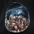 Moon city print image