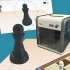 Chess Pawn from book Beginner's Guide to 3D Printing image