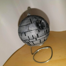 Picture of print of Death Star Christmas Ornament