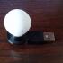 Light Bulb and Base print image