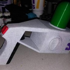 Picture of print of Old Portal Gun from Rick and Morty