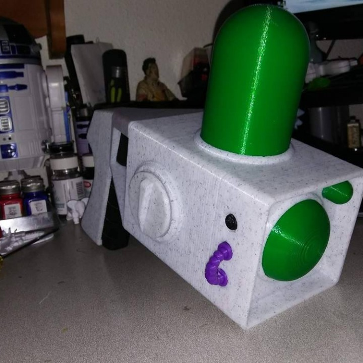 Picture of print of Old Portal Gun from Rick and Morty This print has been uploaded by Rick Saddoris