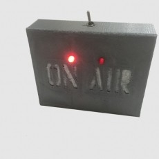 Flashing LED On Air Sign