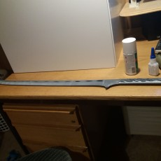 Picture of print of Thranduil Sword - The Hobbit