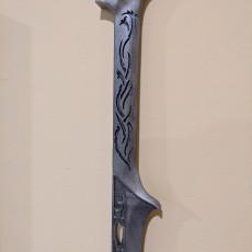 Picture of print of Thranduil Sword - The Hobbit