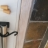 Curtain rod end bracket, mid-support image