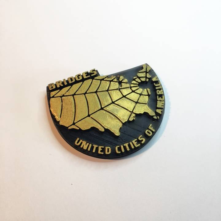 Bridges badge - Death Stranding