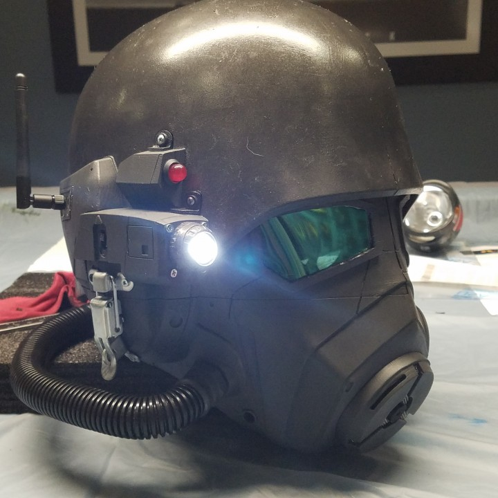 Picture of print of Fallout New Vegas - NCR Ranger Helmet This print has been uploaded by Ken