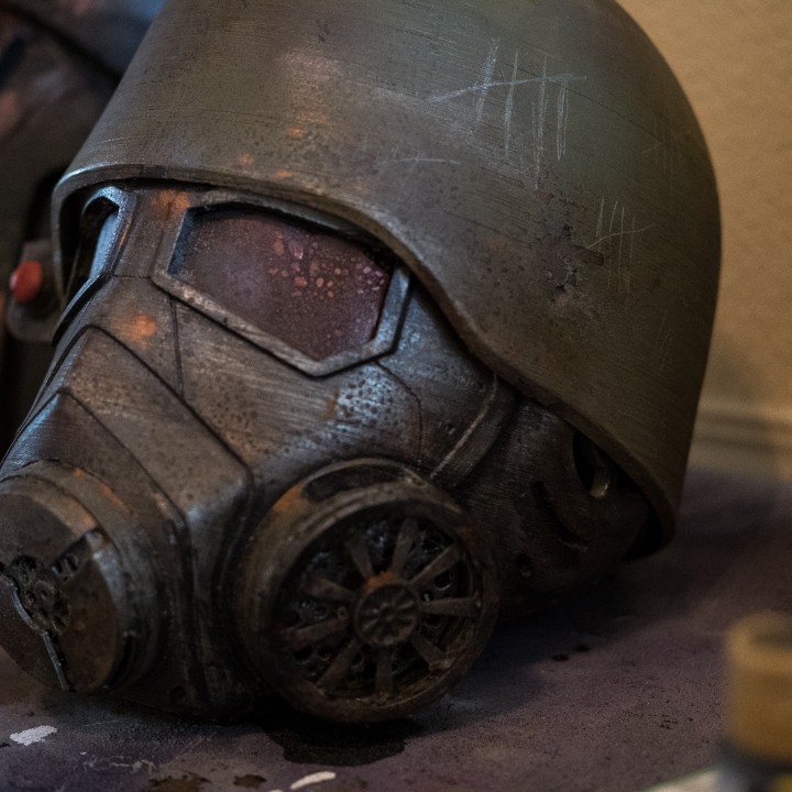 Picture of print of Fallout New Vegas - NCR Ranger Helmet This print has been uploaded by Drew Roberts