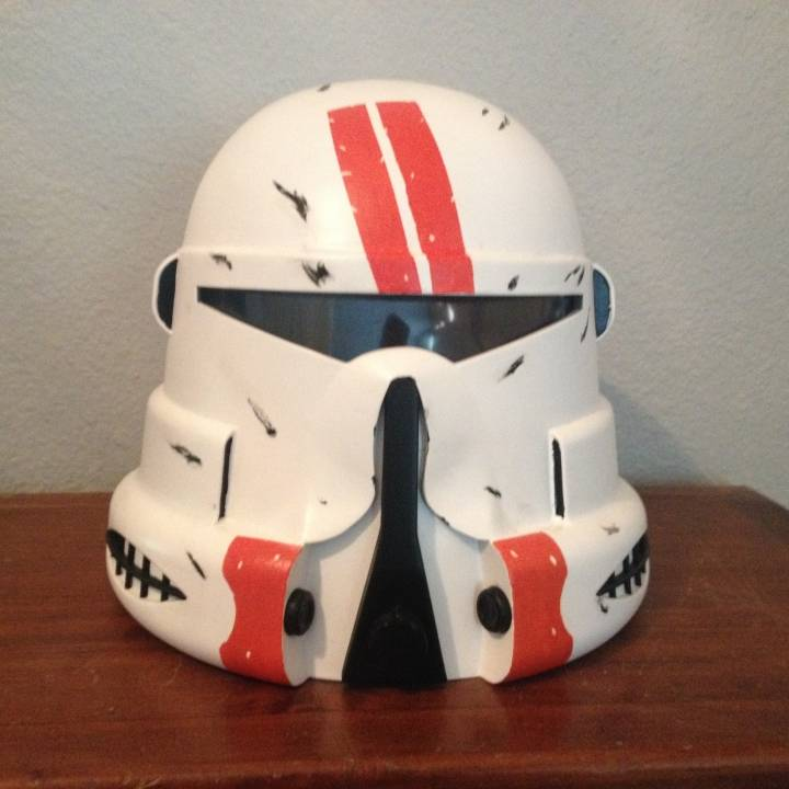 Star Wars: Clone Airborne Trooper Helmet