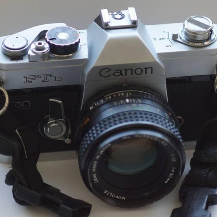 Minolta SR/MC/MD Lens To Canon FL/FD/FDn Body Adapter