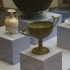Bronze tall-stelled drinking cup image