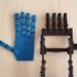Prosthetic/Robotic Hand Printable As An Assembled Unit Without Supports image
