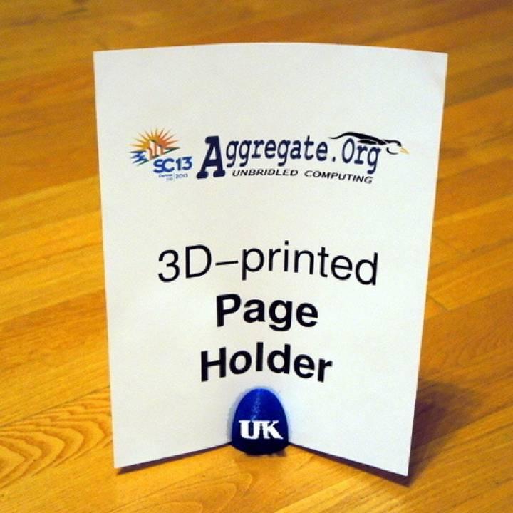 SC13 Aggregate.Org/UK Page Holder