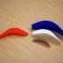 Flatfish-ish 3D-Printed Lure image