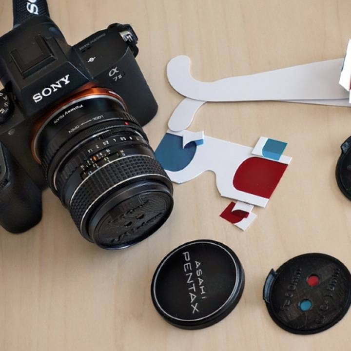 Anaperture Single-Shot Anaglyph Apertures