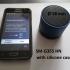 2 in 1 phone (Samsung SM-G355HN) and bluetooth speaker holder image