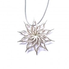 230x230 sunflower pendant