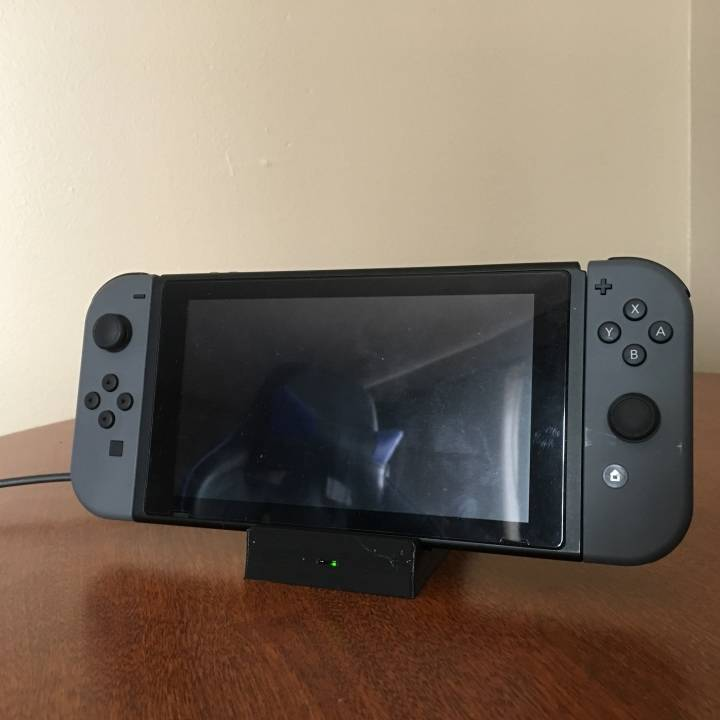 3D Printable Docky - Pocket Sized Nintendo Switch Dock V2 by