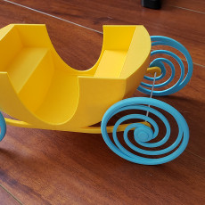 Picture of print of Doll carriage