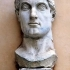Colossal statue of Constantine: head image