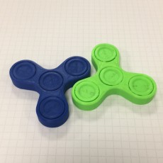 Picture of print of Fidget Spinner - One-Piece-Print / No Bearings Required!