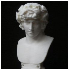 Picture of print of Portrait of Antinous as Dionysus