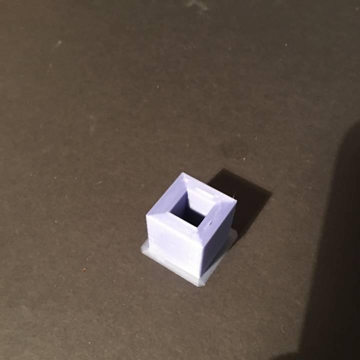 Tolerance cube (torture test)