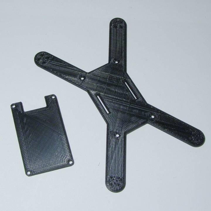 Custom drone frame