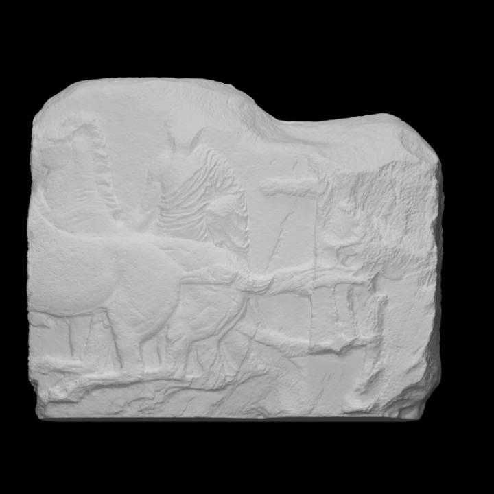 Parthenon Frieze _ North XV, 51-52-53