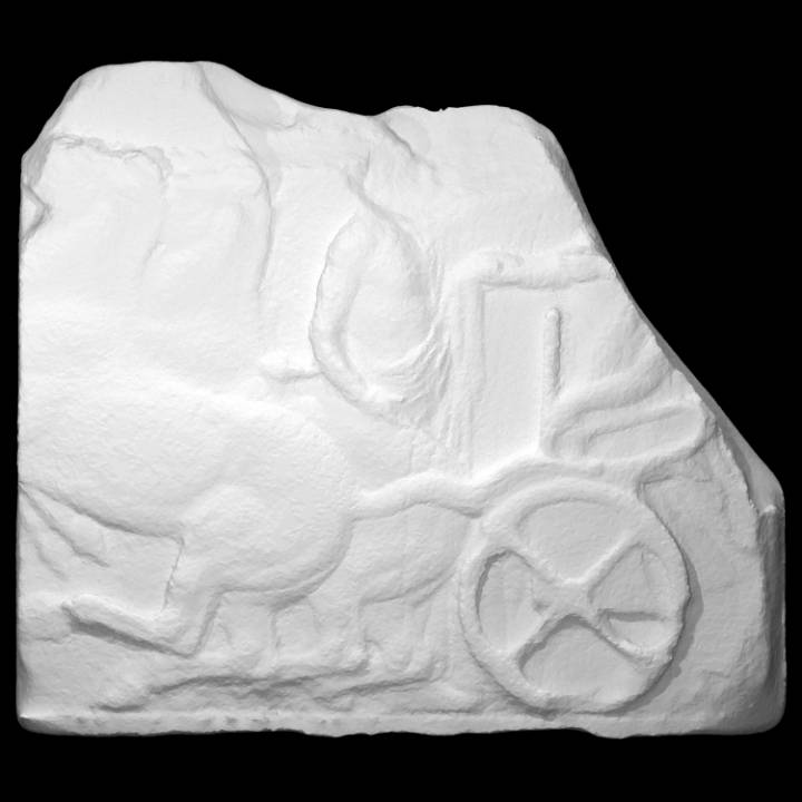 Parthenon Frieze _ North XXIV, 66-67-68