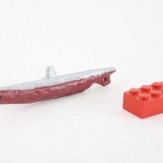 U-boat Type II keychain