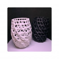 Picture of print of Smooth Voronoi Penholder