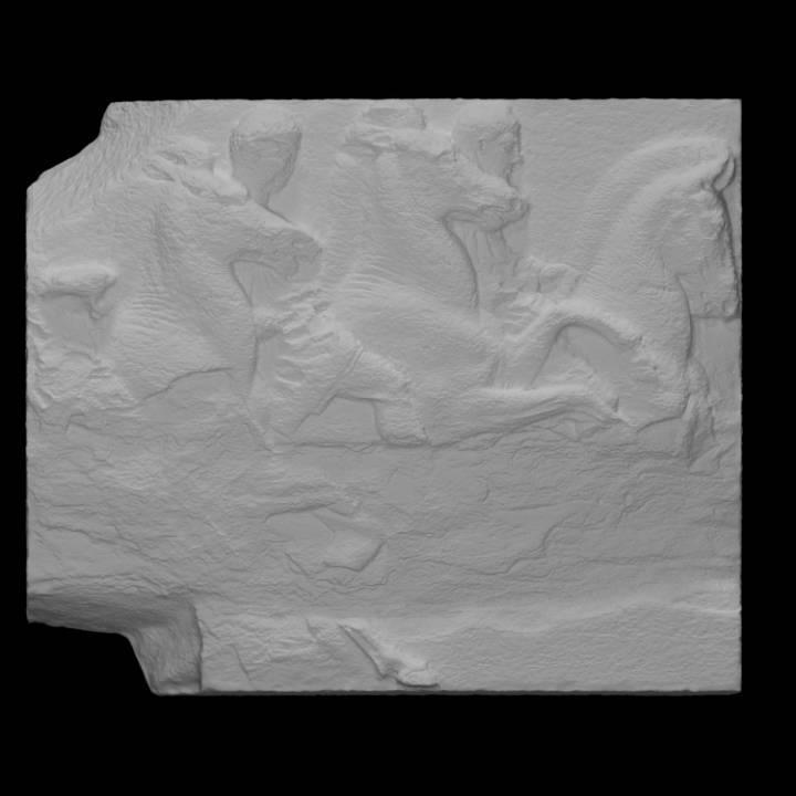 Parthenon Frieze _ South IX, 24-25