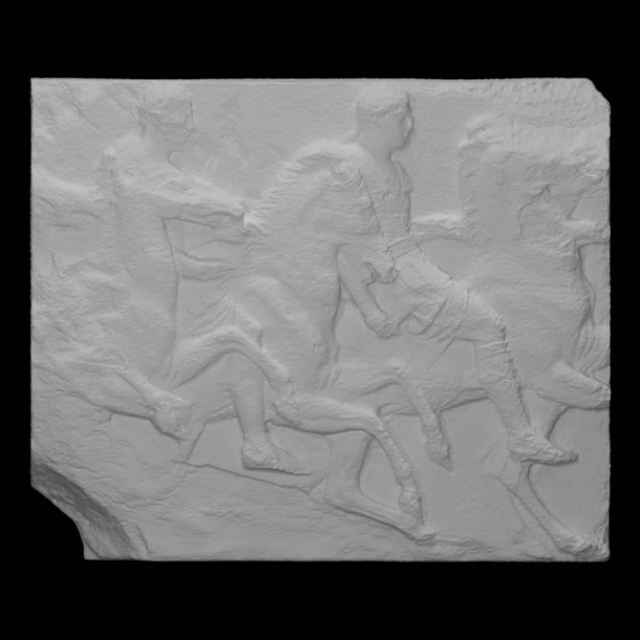 Parthenon Frieze _ South XIII, 35-37