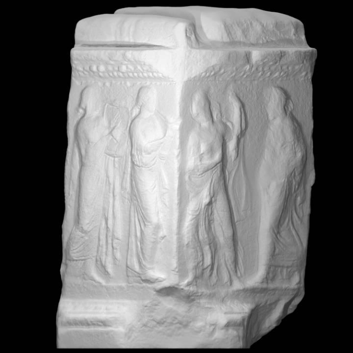 Relief depicting Hesperides