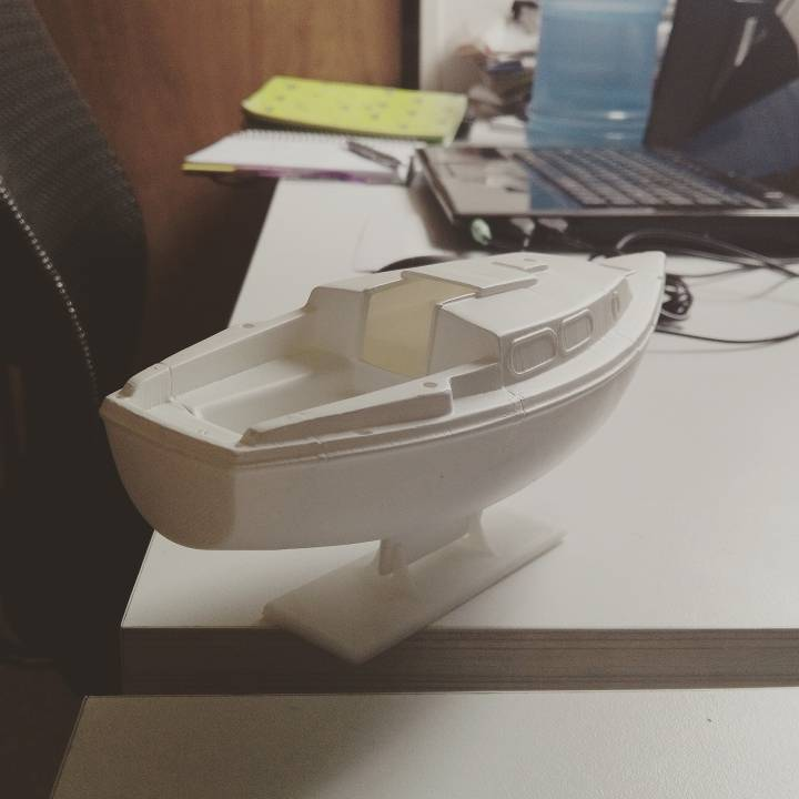 Sailboat Scale Model Esc: 1:43, based on Westerly Tiger 25