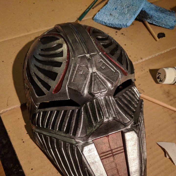 Picture of print of Sith Acolyte Mask (Star Wars) This print has been uploaded by James Breton