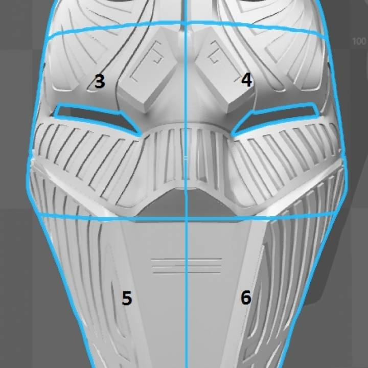 Sith Acolyte Mask (Star Wars)