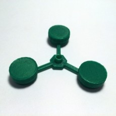 Top Spinner with Nickels & Caps