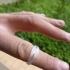 Overlapping Diamonds Ring image