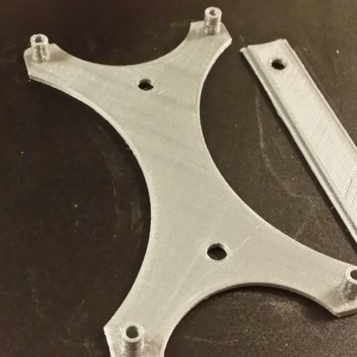 K8200 / 3Drag electronics mounting plate