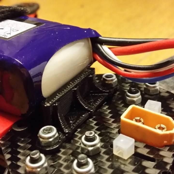 Lightweight ZMR 250 Battery holder
