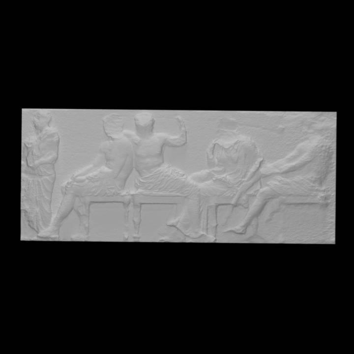 Parthenon Frieze _ East IV, 22-27