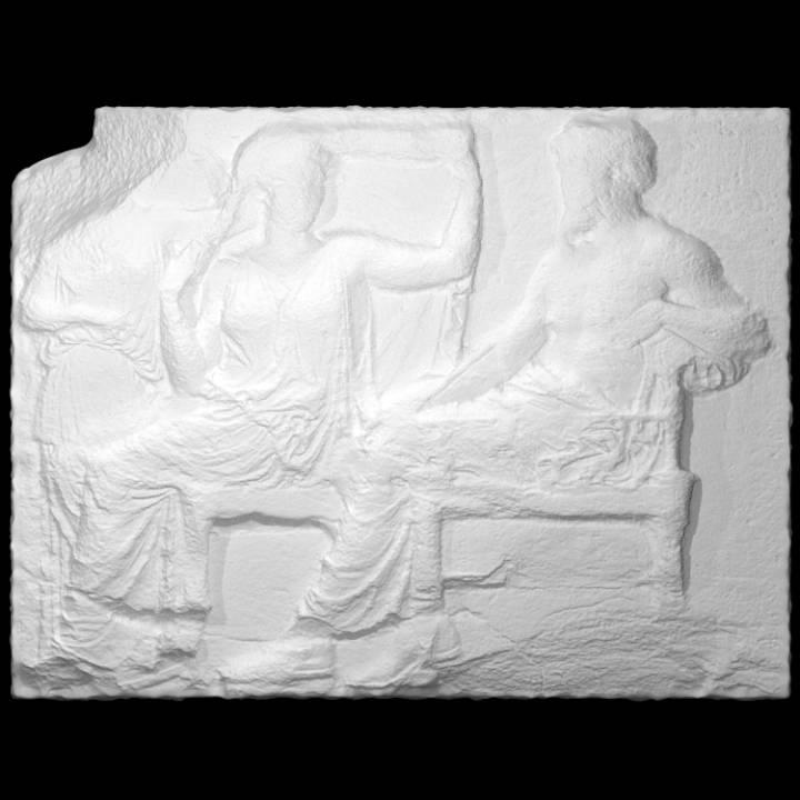 Parthenon Frieze _ East V, 28-30