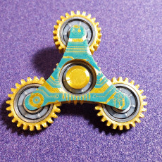 Picture of print of Geared Spinner