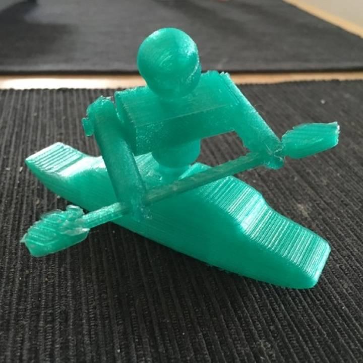 Rolling Kayak Model