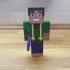 Steve Minecraft Skin image