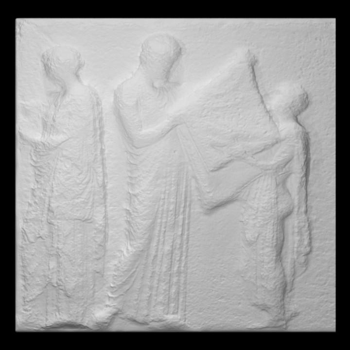 Parthenon Frieze _ East V, 33-35